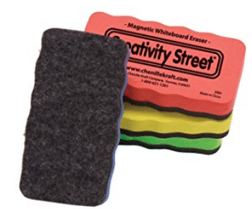 Creativity Street Magnetic Chalk and Whiteboard Erasers