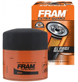 FRAM PH2 Extra Guard Passenger Car Spin-On Oil Filter