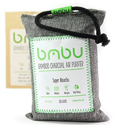 300g Bamboo Charcoal Car Freshener Deodorizer Bag
