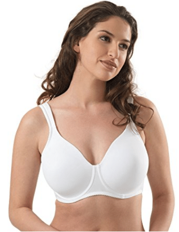 Leading Lady Women's Plus-Size Wireless Padded T-Shirt Bra