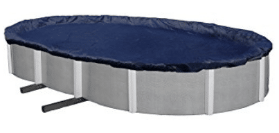 Blue Wave Bronze 8-Year 18-ft x 34-ft Oval Above Ground Pool Winter Cover