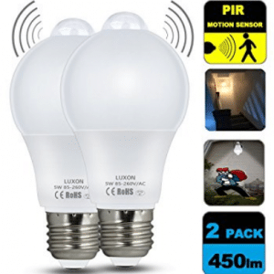 Motion Sensor Light Bulb 5W Smart LED