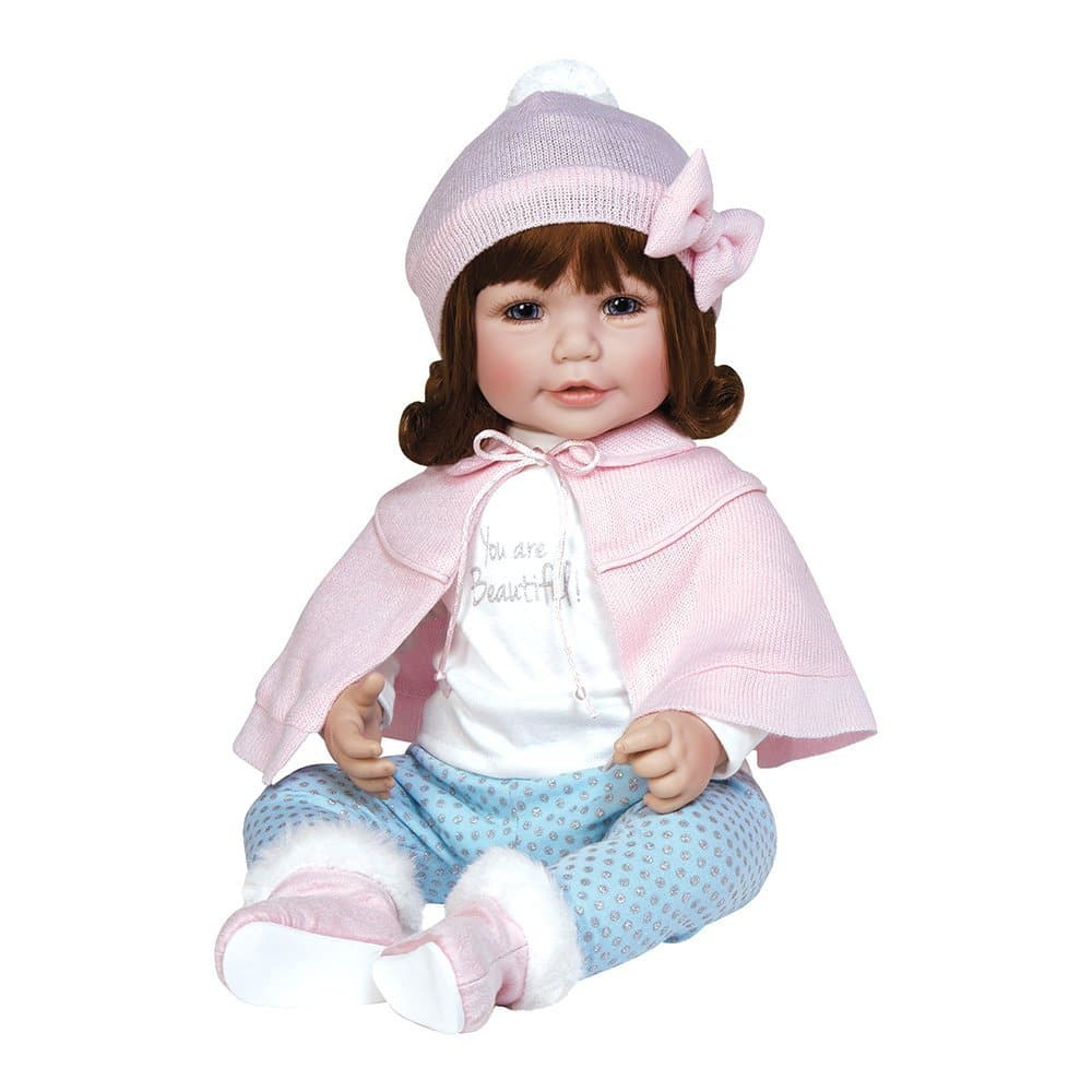 "Adora Toddler Jolie 20"" Girl Weighted Doll Gift Set For Children 6+"