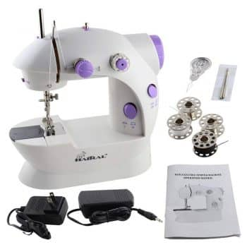 HAITRAL Sewing Machine Mini 2-Speed Double Thread