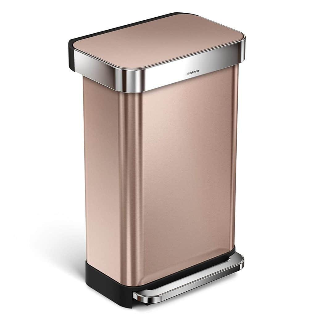 simplehuman 45 Liter / 12 Gallon Stainless