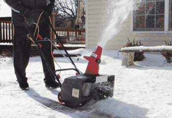 Electric Snow Shovels with Wheels