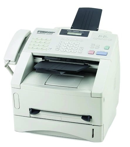 Brother FAX4100E IntelliFax Plain Paper Laser Fax