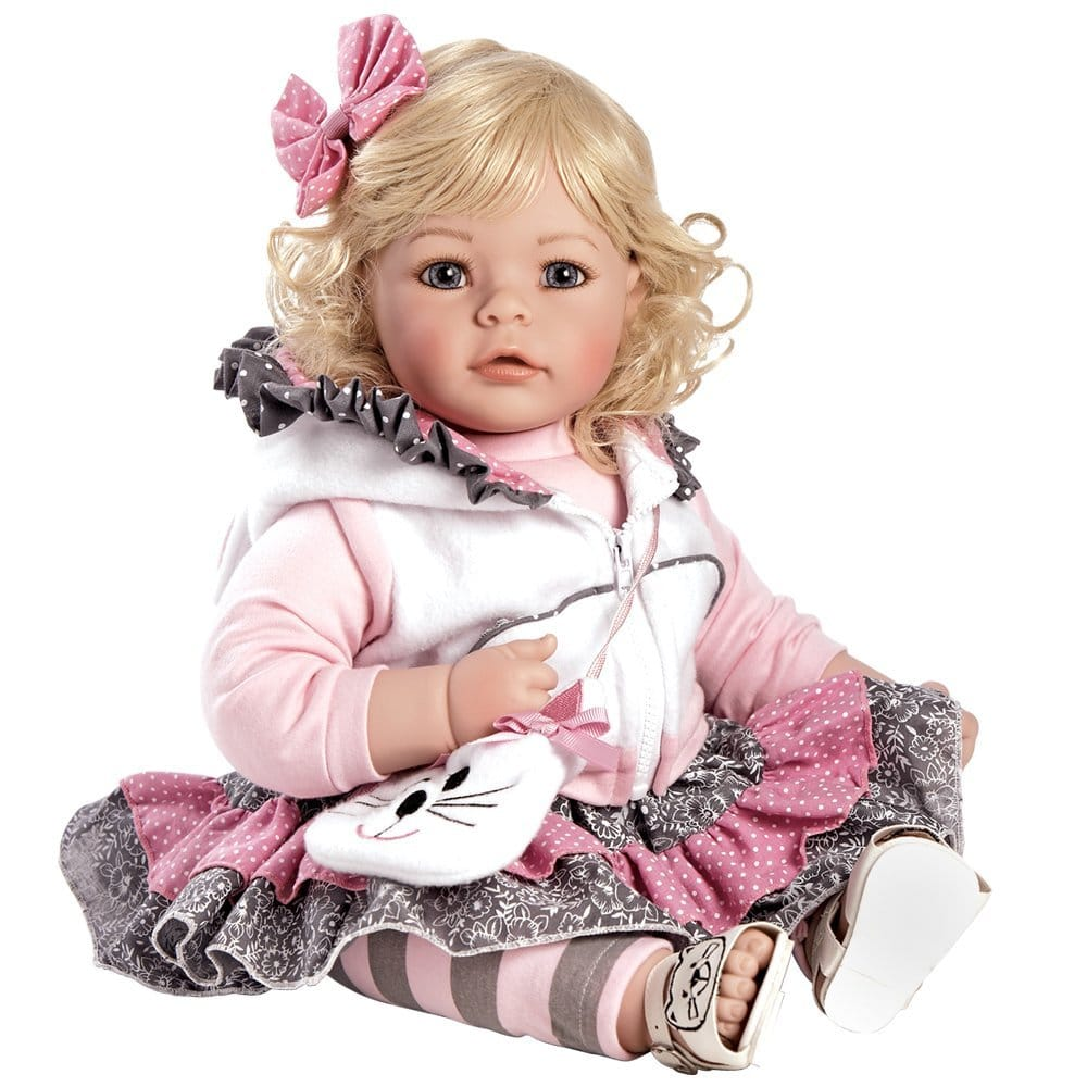 "Adora Toddler The Cat's Meow 20"" Girl Weighted Doll Gift Set for Children 6+"