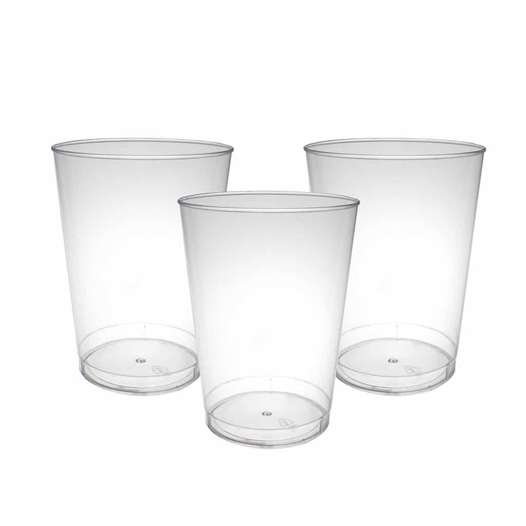 Party Essentials Hard Plastic 10-Ounce Party Cups/ Tumblers