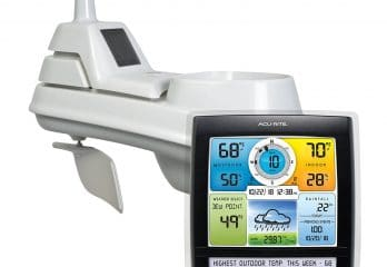 AcuRite 01512 Wireless Weather Station with 5-in-1 Weather Sensor