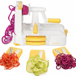 Zestkit Tri - Blade Spiralizer Vegetable Slicer Strongest