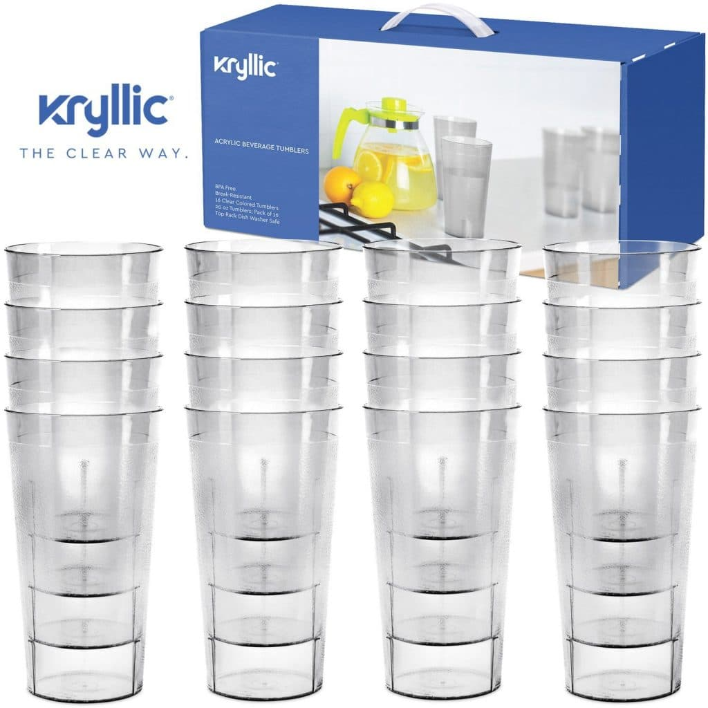 Plastic Cup Tumblers Drinkware Glasses