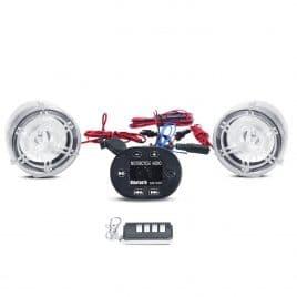INNOGLOW Motorcycle LED Speakers Bluetooth