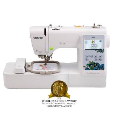 Brother Embroidery Machine, PE535, 80 Built-in Designs