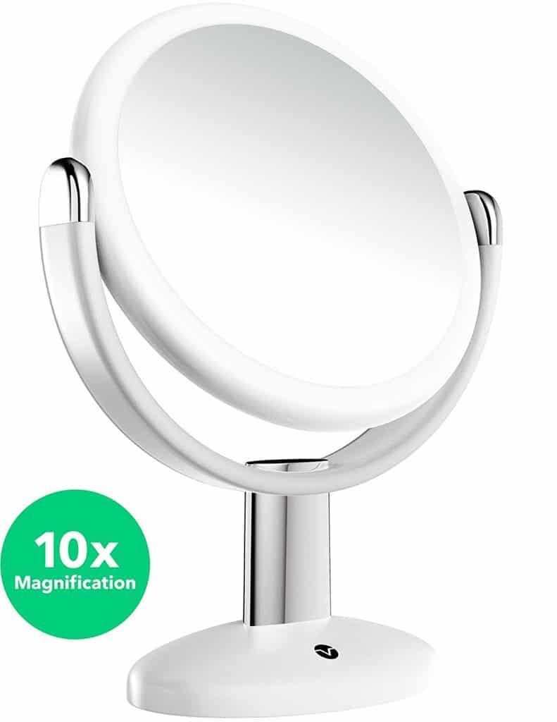 Vremi 10x Magnified Vanity Mirror