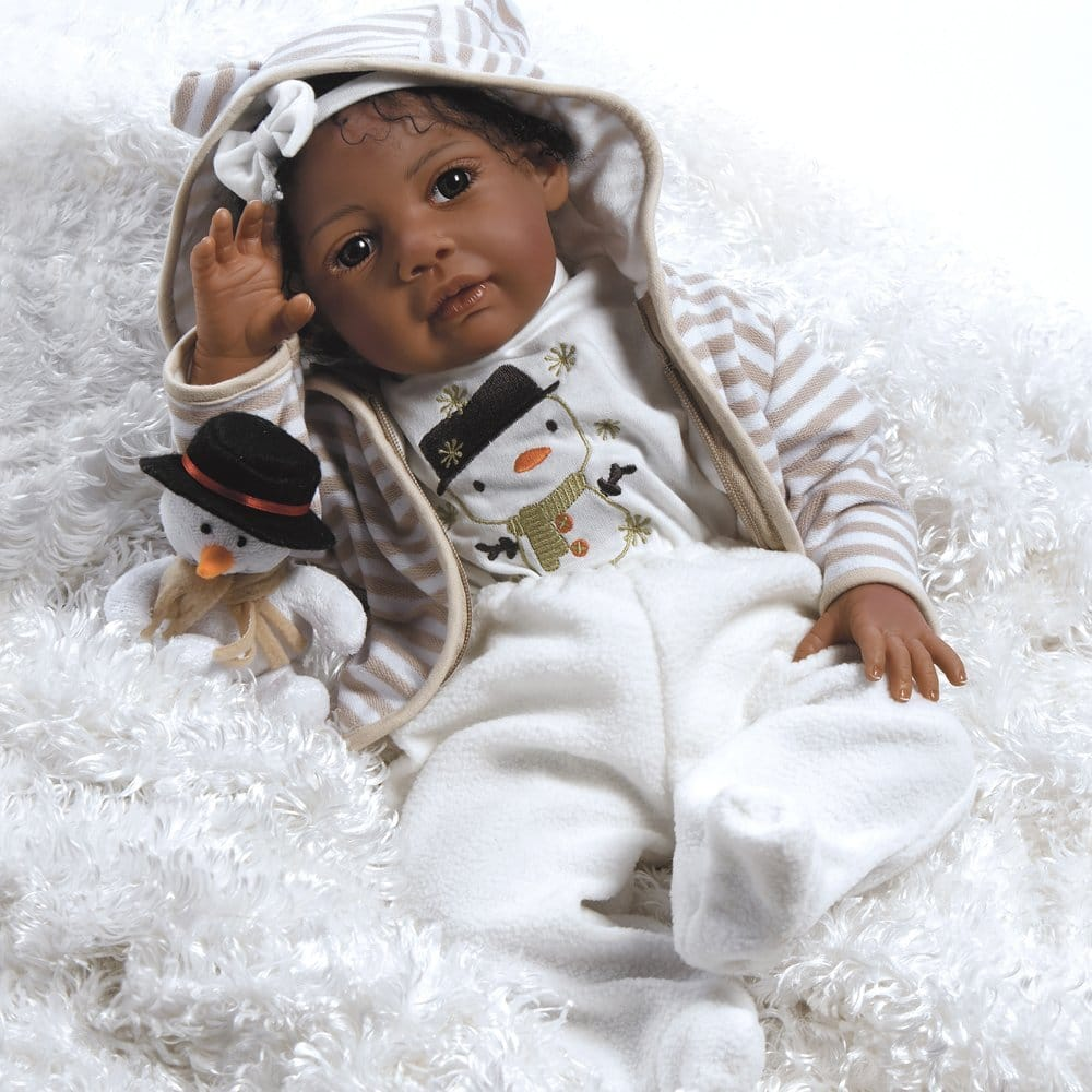 Paradise Galleries Reborn Baby Doll Like African American Real BornBaby Doll
