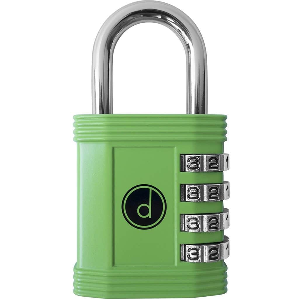 Padlock - 4 Digit Combination Lock for Gym