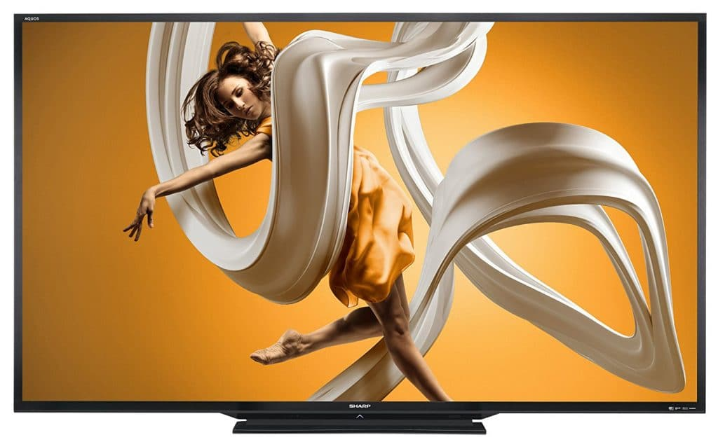 Sharp LC-90LE657U 90-inch Aquos HD 1080p 120Hz 3D Smart LED TV