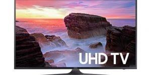 Samsung Electronics UN65MU6300 65-Inch 4K Ultra HD Smart LED TV