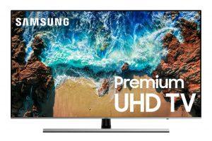 "Samsung UN75NU8000 Flat 75"" 4K UHD 8 Series Smart LED TV"