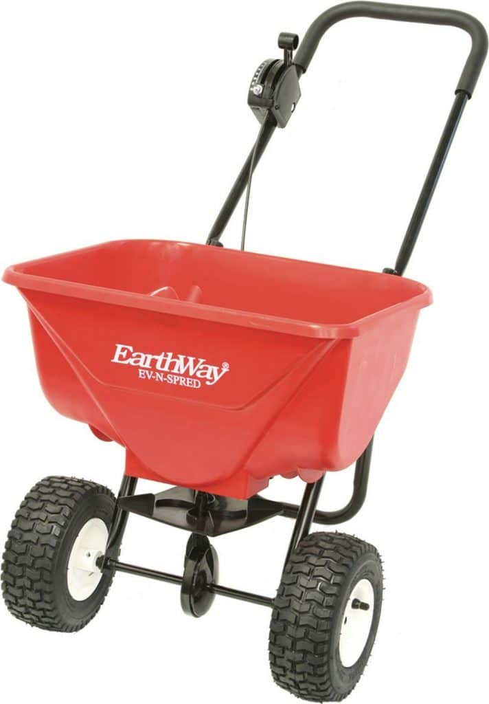 Earthway 2030PPlus Deluxe Lawn & Garden Spreader with 9-Inch Pneumatic Wheel
