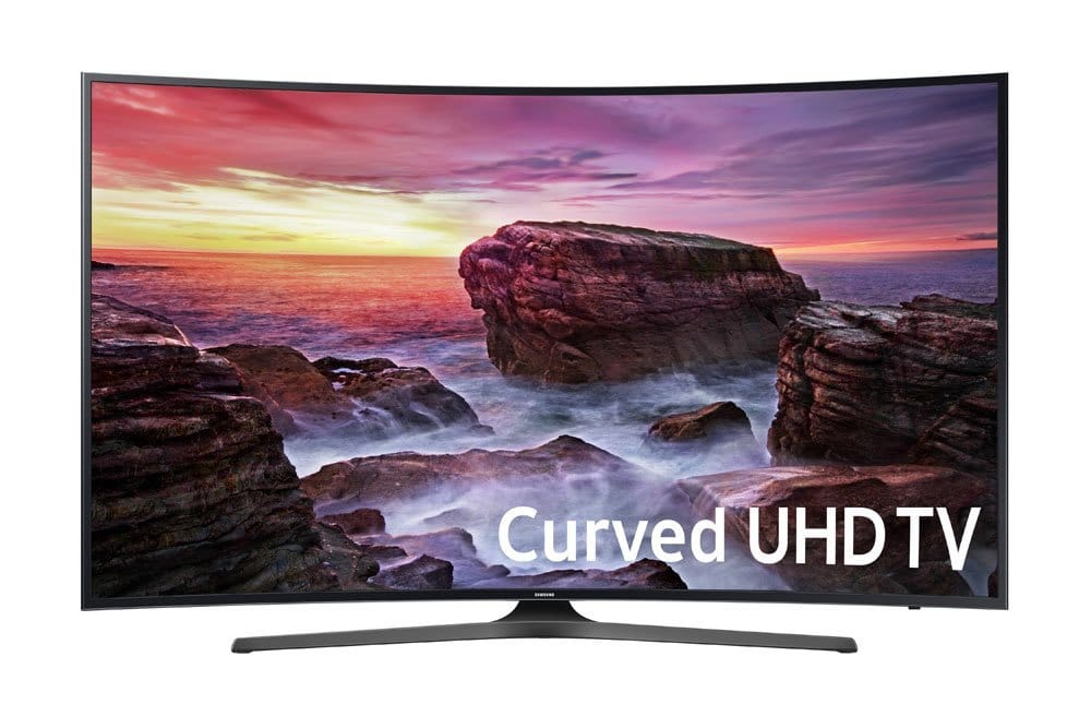 Samsung Electronics UN65MU6500 Curved 65-Inch 4K Ultra HD Smart LED TV