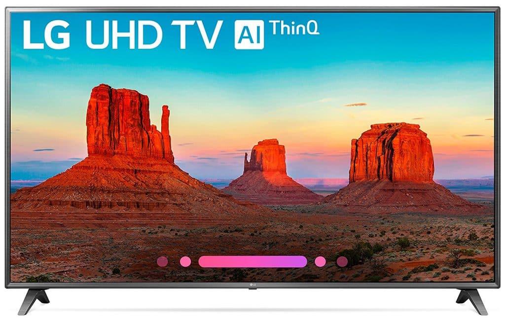 LG Electronics 70UK6570PUB 70-Inch 4K Ultra HD Smart LED TV
