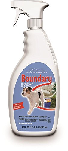 Lambert Kay Boundary Indoor/Outdoor Dog Repellent Pump Spray