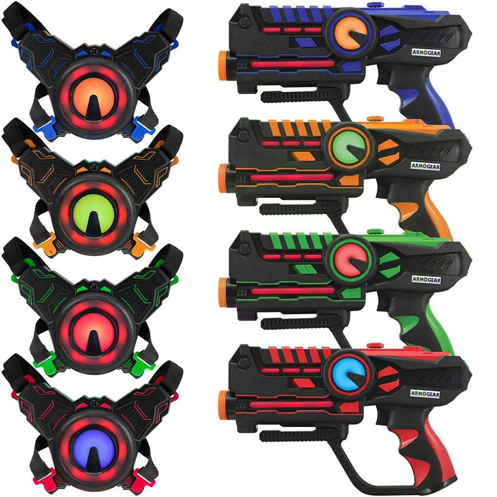 Infrared Laser Tag Guns and Vests