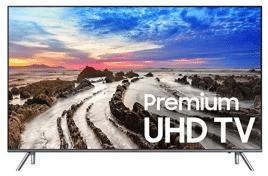 Samsung Electronics UN75MU8000 75-Inch 4K Ultra HD Smart LED TV