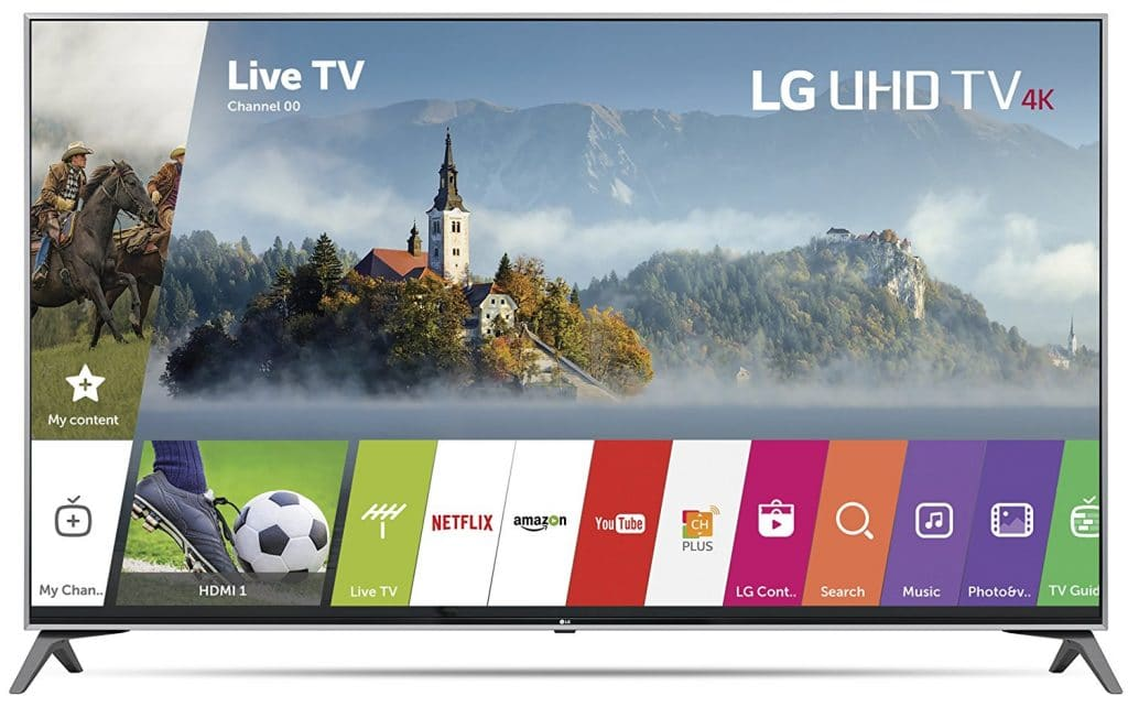 LG Electronics 65UJ7700 65-Inch 4K Ultra HD Smart LED TV