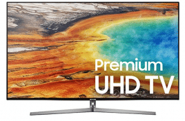 Samsung Electronics UN75MU9000 75-Inch 4K Ultra HD Smart LED TV