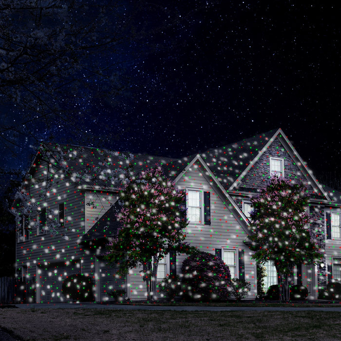 how do christmas laser lights work a complete guide - Laser Christmas House Lights