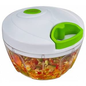 Brieftons Manual Food Chopper, Best Small Food Processors and Powerful Hand Held Vegetable