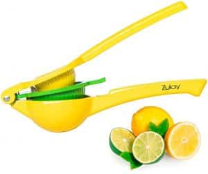 Zulay Top-rated Premium Metal Lemon & Lime Squeezer
