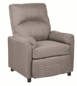 BestMassage Modern Leather Chaise Single Recliner Chair