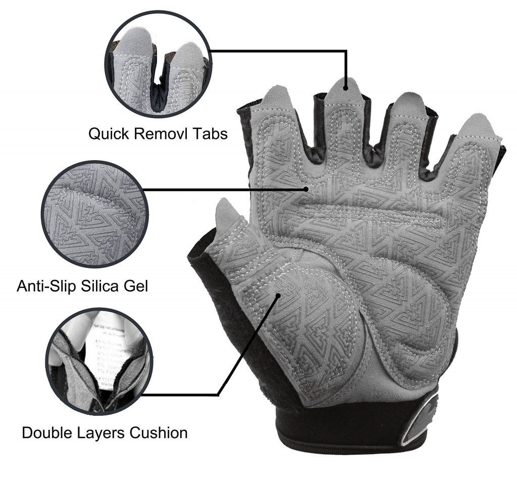 Tourdarson Weight Lifting Gym Gloves