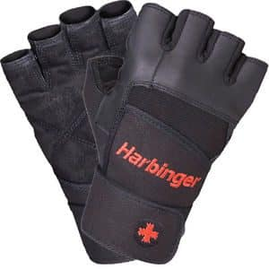Harbinger Pro Training Wristwrap Gloves