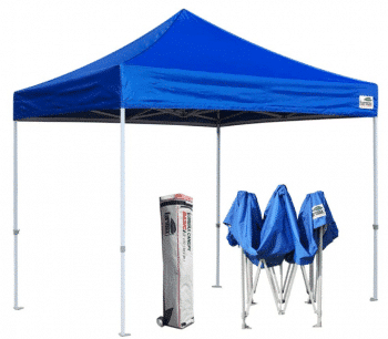 Eurmax Basic 10x10 EZ Pop Up Canopy Ten