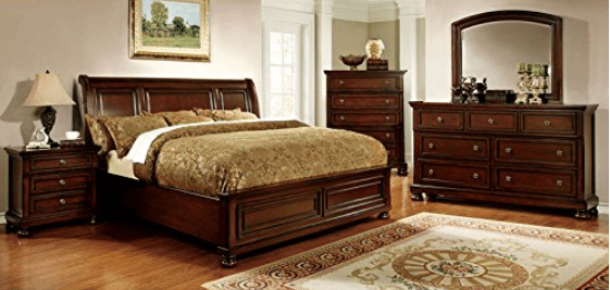 247SHOPATHOME IDF-7682EK-6PC Bedroom-Furniture-Sets, King