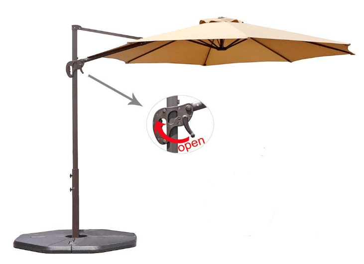 Best Offset Patio Umbrellas Review December 2018 A Complete Guide
