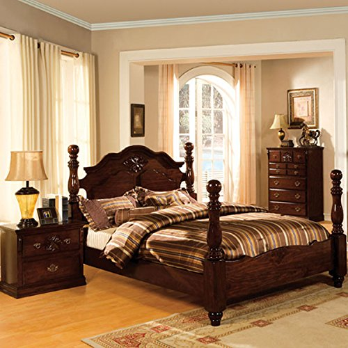 247SHOPATHOME IDF-7571EK-6PC Bedroom-Furniture-Sets