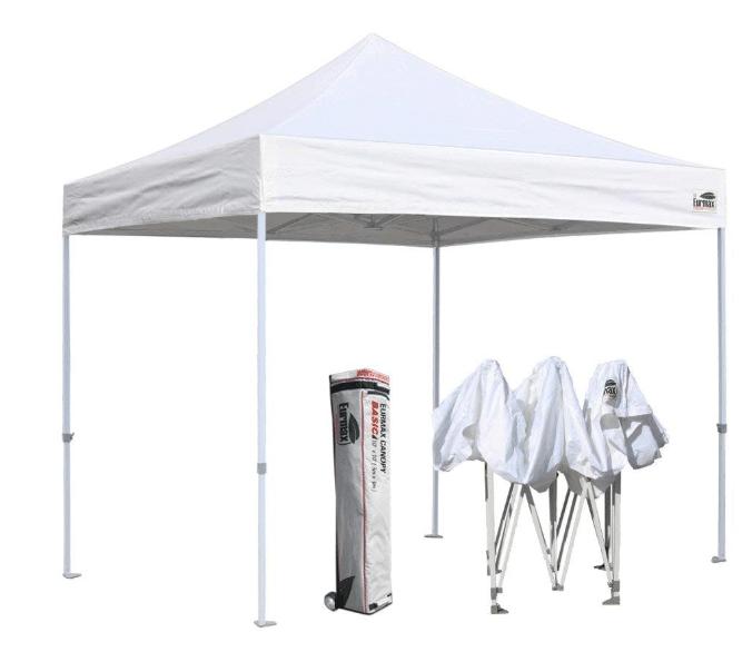 Eurmax 10'x10' Ez Pop Up Canopy Tent