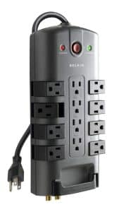 Belkin 12-Outlet Pivot-Plug Power Strip Surge Protector