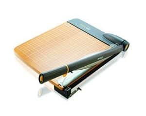 """Westcott 12"""" TrimAir Titanium Wood Guillotine Titanium Wood Guillotine Paper Trimmer"""