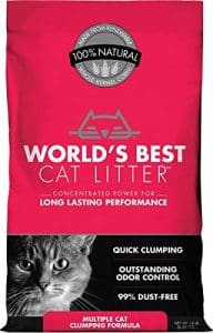 World's Best Scoopable Multi-Cat Clumping Litter