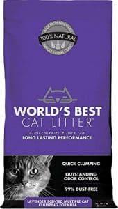 World's Best Cat Litter Extra Strength Lavender