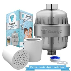 ClearlyC Shower Filter & Hard Water Softener