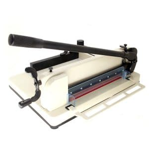 "HFS New Heavy Duty Paper Cutter- 12"" Commercial Metal Base"