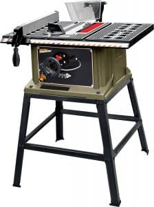 ShopSeries RK7240.1 10″ 13-Amp Table Saw with Stand